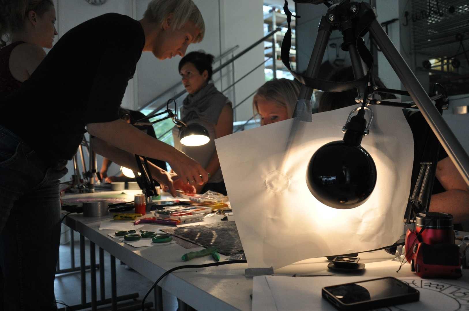 Warsztaty z animacji prowadzone przez Izabelę Plucińską