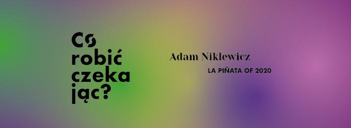 adam niklewicz, informacja o wystawie w GSW