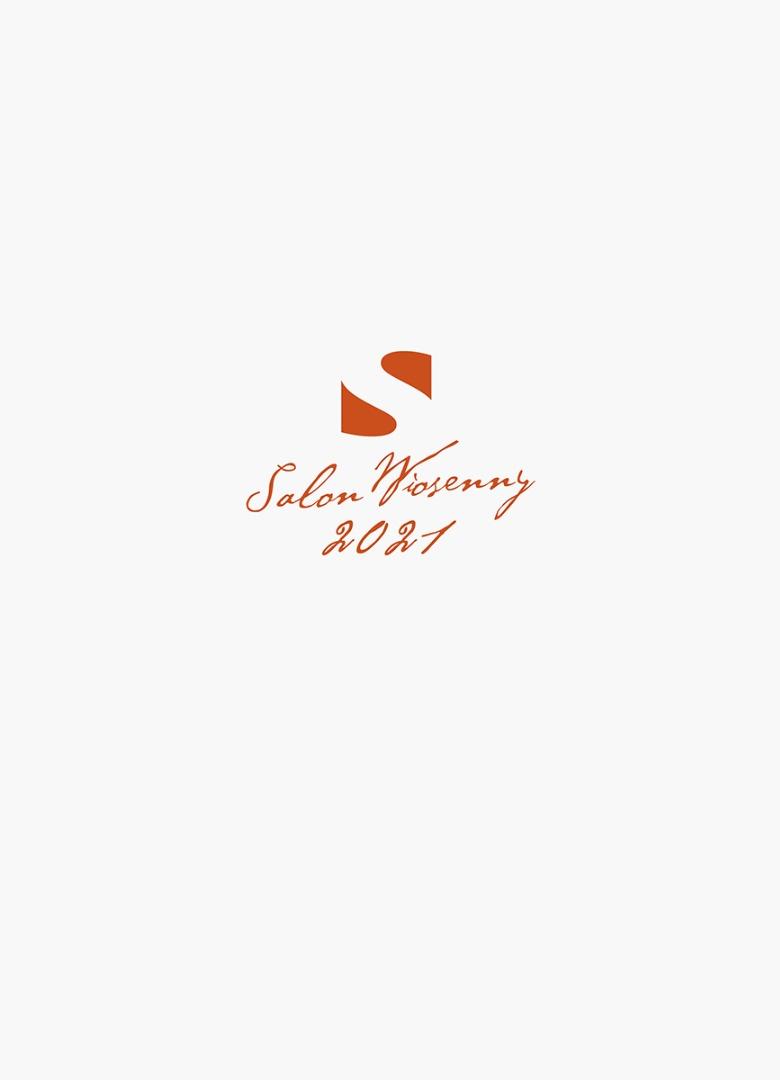 benner informujący o wystawie Salon Wiosenny. Logo