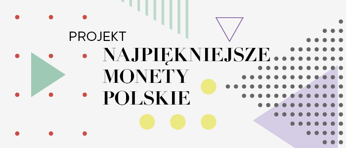 baner ukazujący monety polskie i tytuł projektu