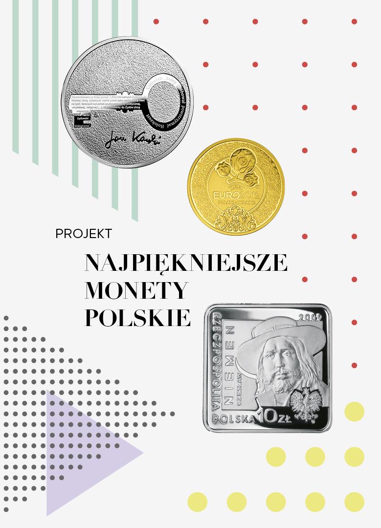 baner ukazujący monety i tytuł projektu