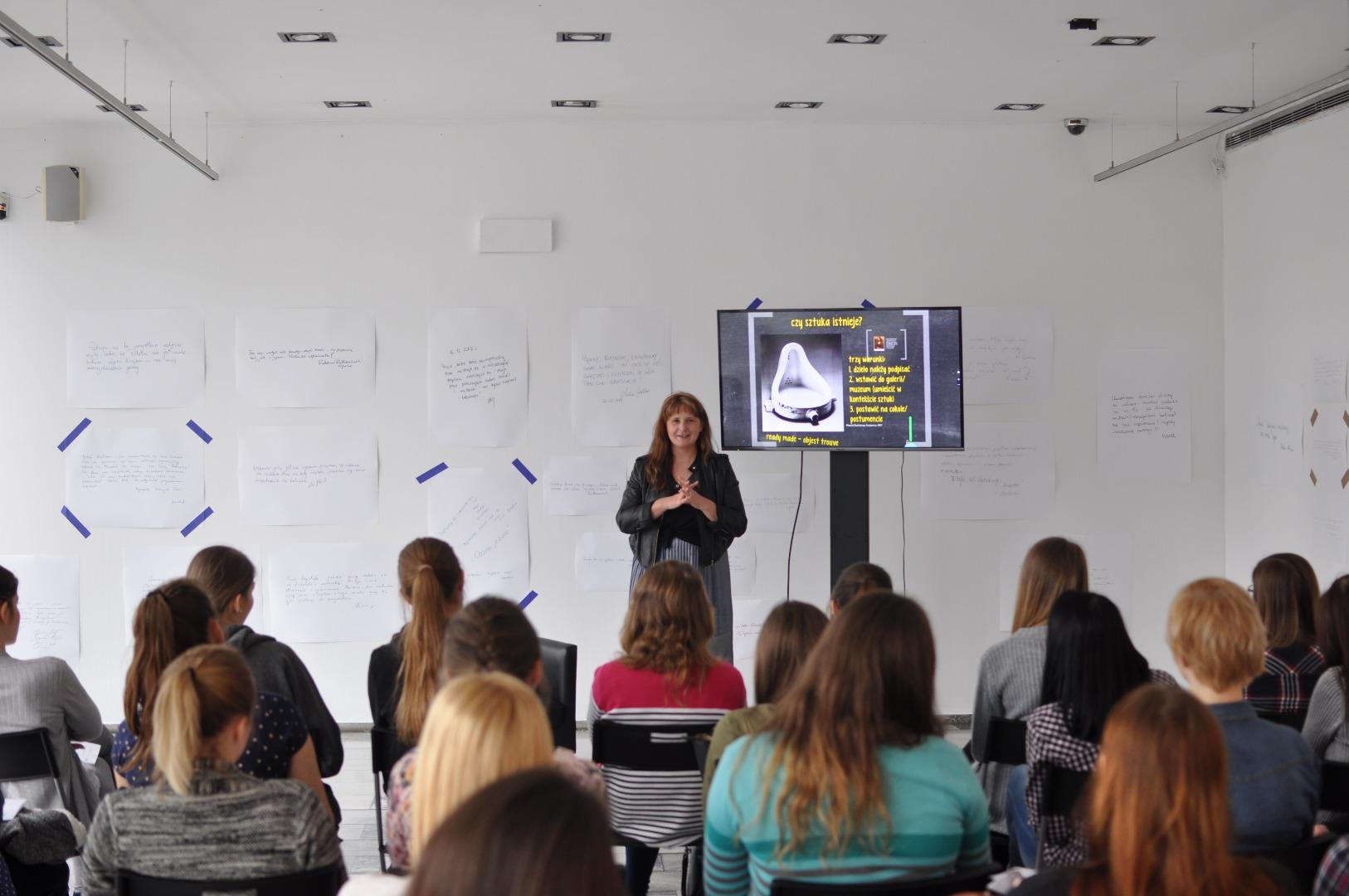 Wykłady  o sztuce w GSW