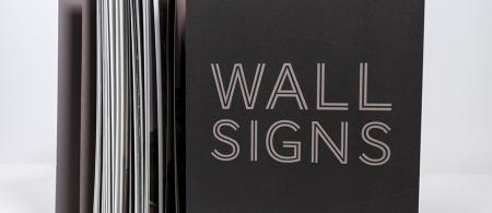 katalog WALL SIGNS